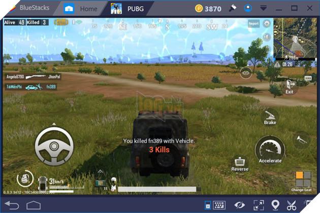 PUBG Mobile - Hướng dẫn chọn chế độ lái xe siêu mượt khi