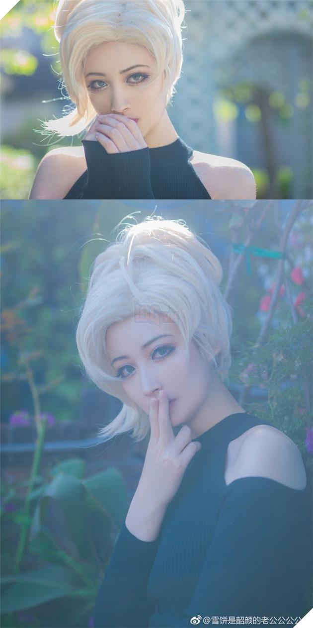 Cosplay nàng Mercy (Overwatch) cực xinh đẹp khiến bạn không khỏi ngỡ ngàng