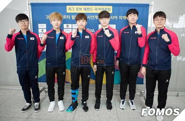 Đội tuyển Hàn Quốc chính thức lên đường tham dự Asian Games 2018, Faker mặc áo đấu cực chất