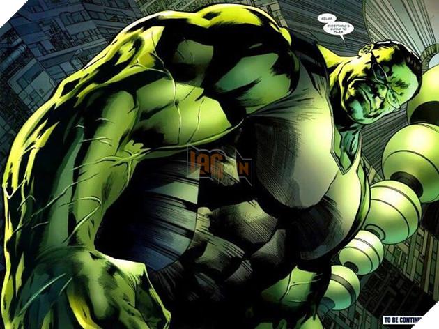 Tạo hình của giáo sư Hulk