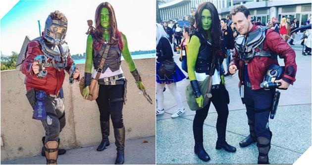 Star Lord và Gamora