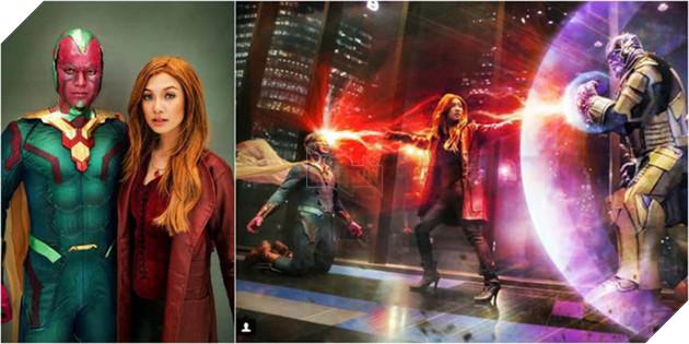 Vision và Scarlet Witch