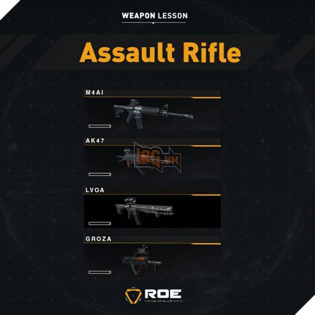 Garena RoE: Hướng dẫn xếp hạng tất cả vũ khí mạnh nhất trong game 6