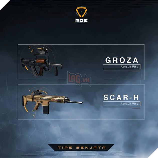 Garena RoE: Hướng dẫn xếp hạng tất cả vũ khí mạnh nhất trong game 5