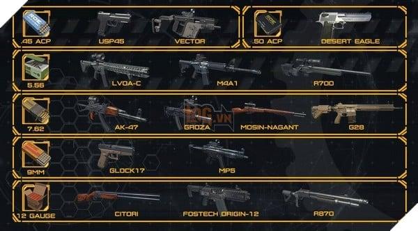 Garena RoE: Hướng dẫn xếp hạng tất cả vũ khí mạnh nhất trong game