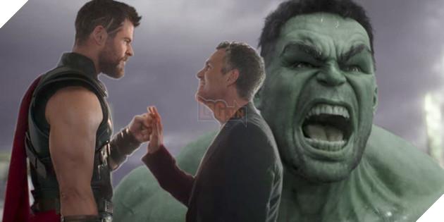 Sự bất đồng giữa Hulk và Banner lên cao độ trong Thor: Ragnarok