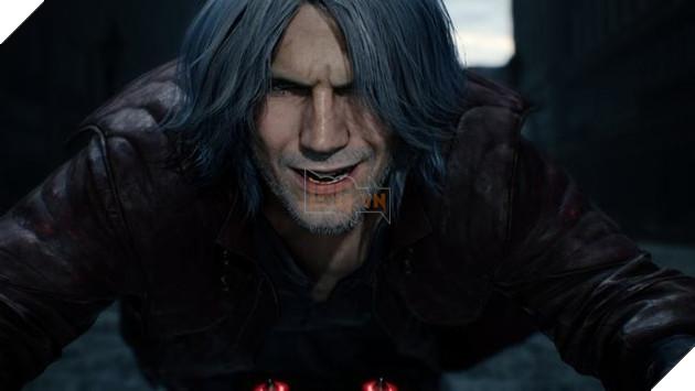 """""""Già gân"""" Dante trở lại trong trailer Devil May Cry 5"""
