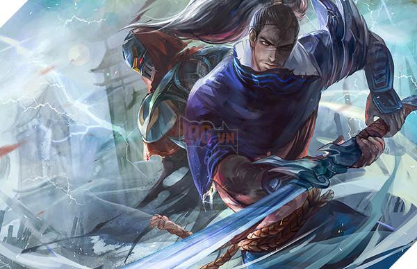 fanart____zed_vs_yasuo_by_orekigenya-d91vgvl