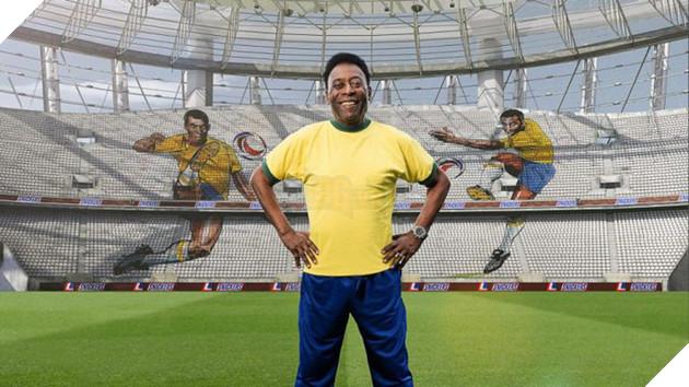 Vua bóng đá Pele năm nay đã bước sang tuổi 77