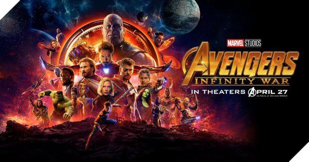 Avengers: Infinity War chính thức cán mốc 2 tỷ USD doanh thu toàn cầu