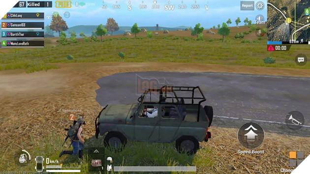 PUBG Mobile - Bản cập nhật 0 6 0, xe cộ không còn gây sát thương nữa