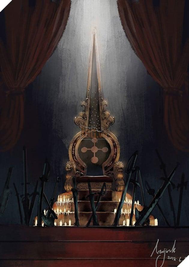 Ngai vàng trống rỗng xuất hiện trong Chap 907