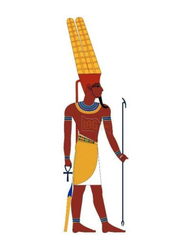 Im-sama và Amun của Ai Cập cổ đại có những chi tiết rất giống nhau