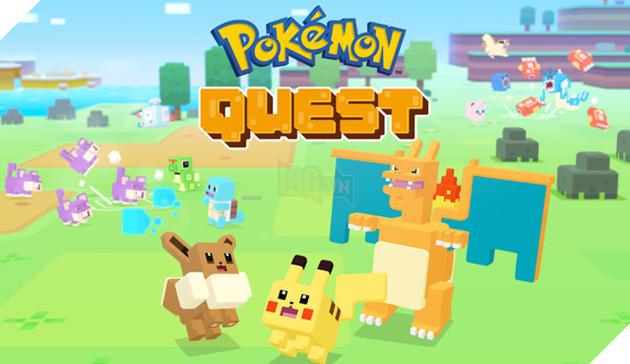 Pokémon Quest - Tựa game Pokemon mang style hình khối Minecraft khác biệt nhất từ trước đến nay