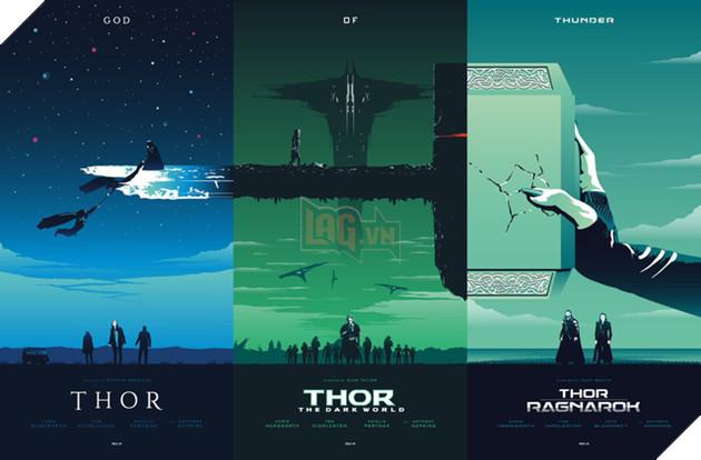Bộ ba phim Thor: Thor, Thor: The Dark World, Thor: Ragnarok.