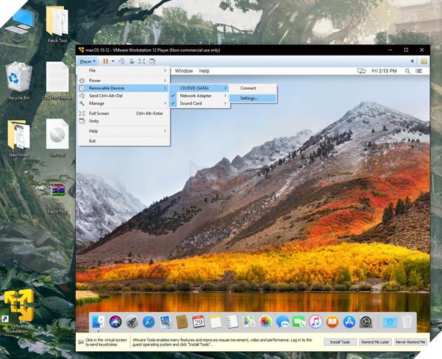 Chạy macOS High Sierra lên Windows? Chỉ là chuyện nhỏ với công cụ sau 24