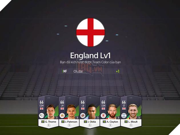 Hướng dẫn nhanh Team Color trong FIFA Online 4