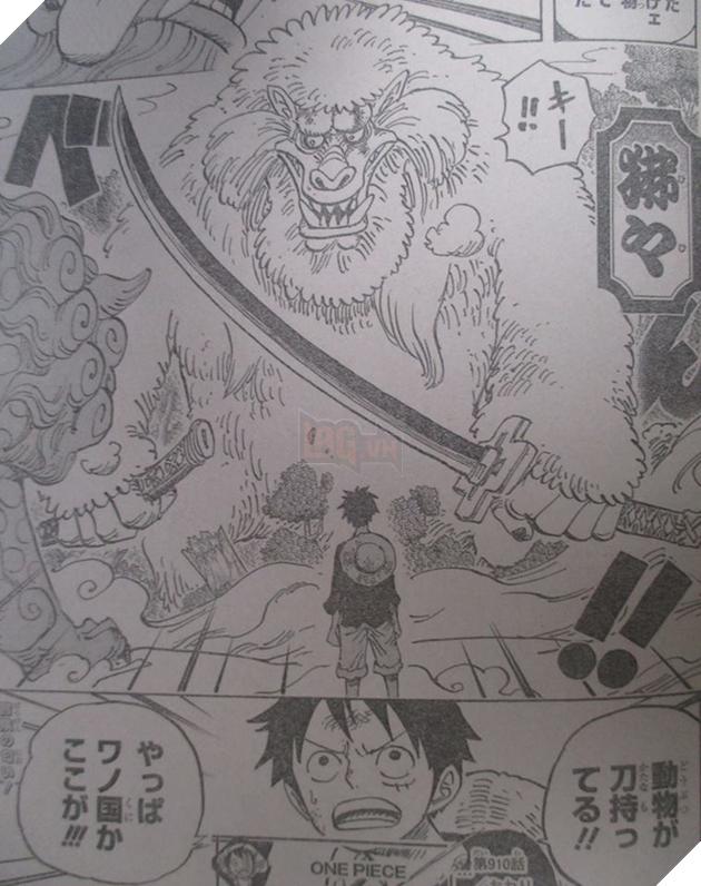 Chạm trán sinh vật bí ẩn, Luffy chắc chắn rằng mình đang ở Wano