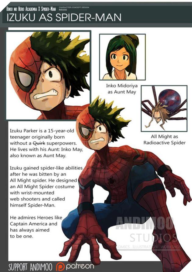 Izuku trở thành một Spider- Man hoàn hảo.