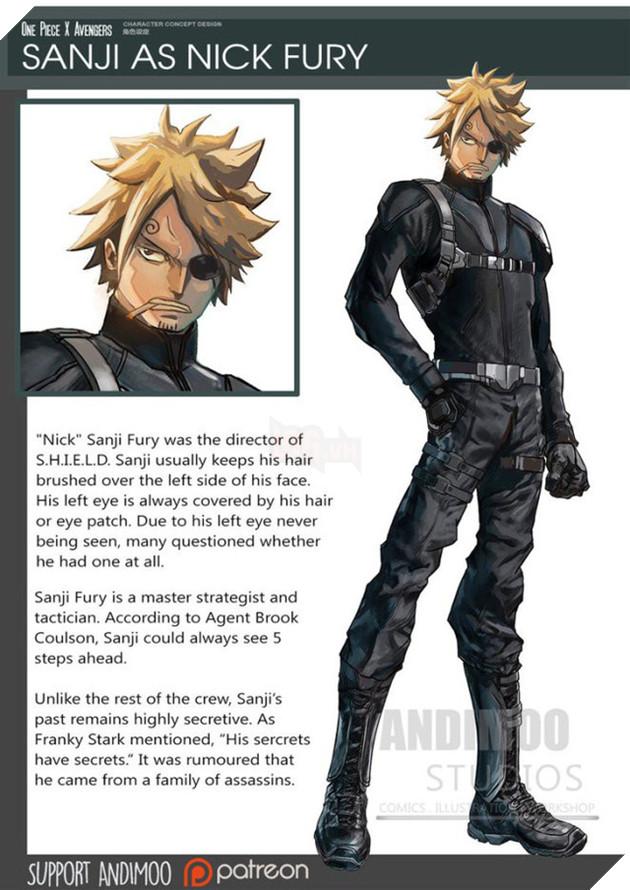 Sanji sẽ trở thành Fury.