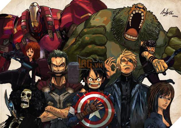 [Góc Hài Hước] Khi nhân vật manga hóa thân thành các siêu anh hùng Avengers