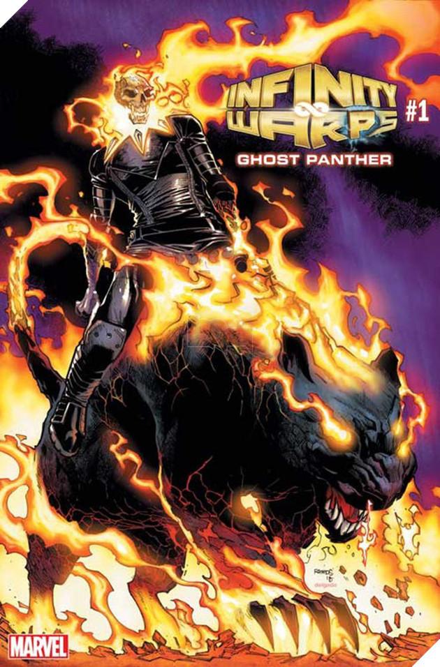 Và cuối cùng, khi Báo Đen kết hợp với Ghost Rider sẽ ra một tạo hình siêu ngầu như này đây