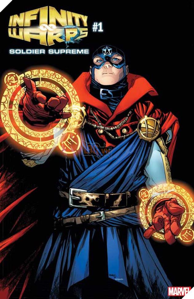 Soldier Supreme, vừa sở hữu sự bình tĩnh, tinh thông phép thuật của Dr.Strange, vừa có được kỹ năng chiến đấu hoàn hảo cùng đầu óc chiến lược tài tình của Captain America.