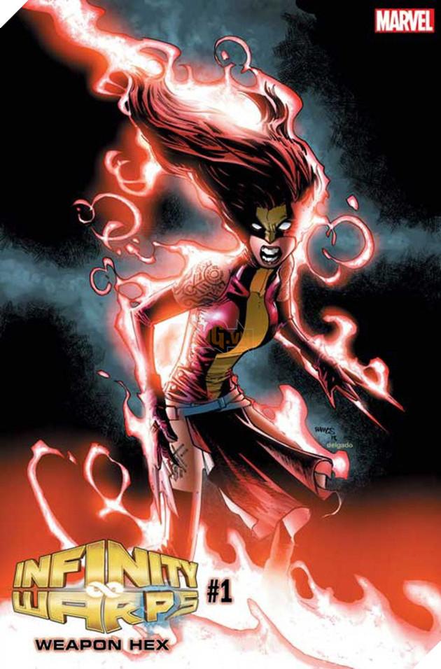 Weapon Hex, liệu có phải sự kết hợp của X-23, The New Wolverine và Scarlet Witch?