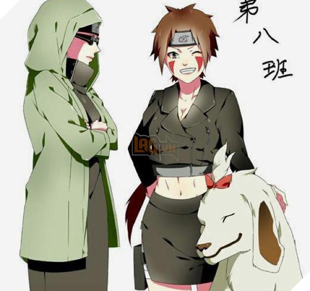 Kiba và Shino