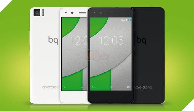 BQ là đối tác Android One từ 2016.