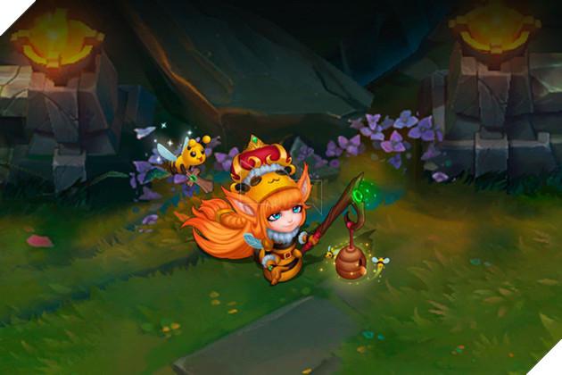 """""""Trụy tim"""" với vẻ đáng yêu của Lulu Nữ Hoàng Ong - Trang phục LMHT tuyệt đẹp do game thủ thiết kế - Ảnh 2."""