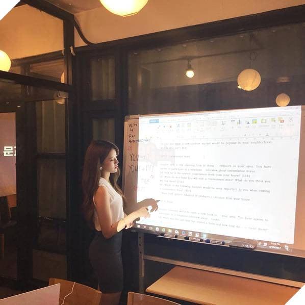 Sarah Kim - Cô giáo dạy tiếng Anh nóng bỏng nhất Hàn Quốc - Ảnh 7.