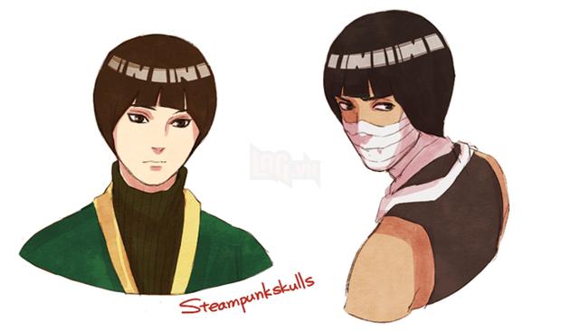 Khi kiểu tóc của Rock Lee trở thành hot trend và được các nhân vật trong Naruto thi nhau lăng xê - Ảnh 2.