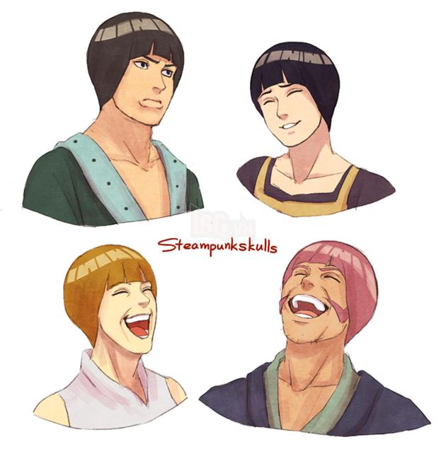 Khi kiểu tóc của Rock Lee trở thành hot trend và được các nhân vật trong Naruto thi nhau lăng xê - Ảnh 3.