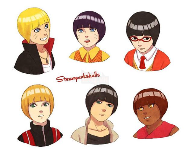 Khi kiểu tóc của Rock Lee trở thành hot trend và được các nhân vật trong Naruto thi nhau lăng xê - Ảnh 7.