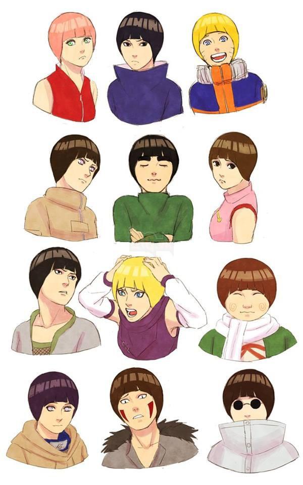 Khi kiểu tóc của Rock Lee trở thành hot trend và được các nhân vật trong Naruto thi nhau lăng xê - Ảnh 10.