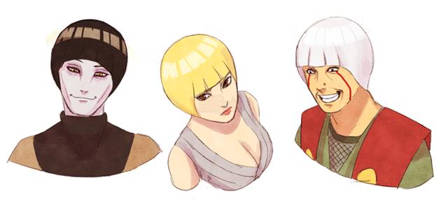 Khi kiểu tóc của Rock Lee trở thành hot trend và được các nhân vật trong Naruto thi nhau lăng xê - Ảnh 12.