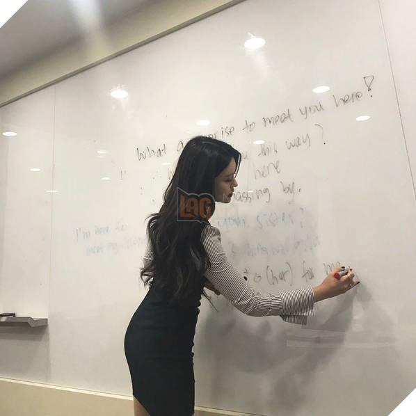 Sarah Kim - Cô giáo dạy tiếng Anh nóng bỏng nhất Hàn Quốc - Ảnh 4.