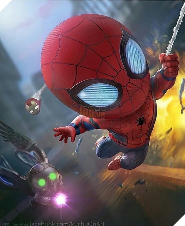 Đổ gục trước những hình ảnh đáng yêu của các siêu anh hùng Avengers tí hon - Ảnh 2.