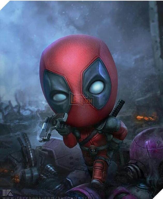 Đổ gục trước những hình ảnh đáng yêu của các siêu anh hùng Avengers tí hon - Ảnh 3.