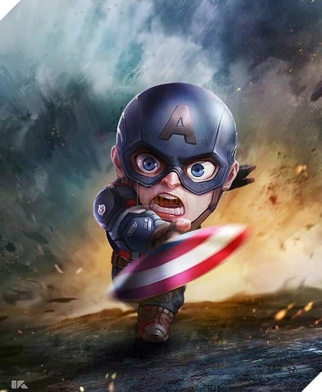 Đổ gục trước những hình ảnh đáng yêu của các siêu anh hùng Avengers tí hon - Ảnh 7.