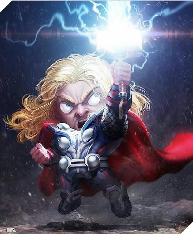 Đổ gục trước những hình ảnh đáng yêu của các siêu anh hùng Avengers tí hon - Ảnh 9.