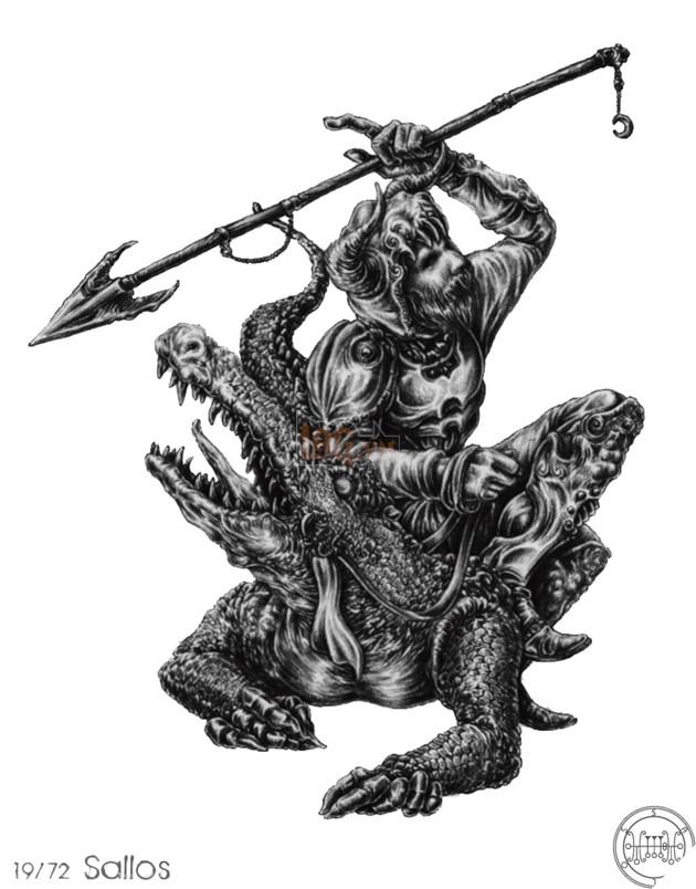 Shazam có được sức mạnh của vua Solomon - vậy bạn đã biết Vua Solomon kinh khủng thế nào và 72 Quỷ thần mà ông ta đã thống lĩnh ! 24