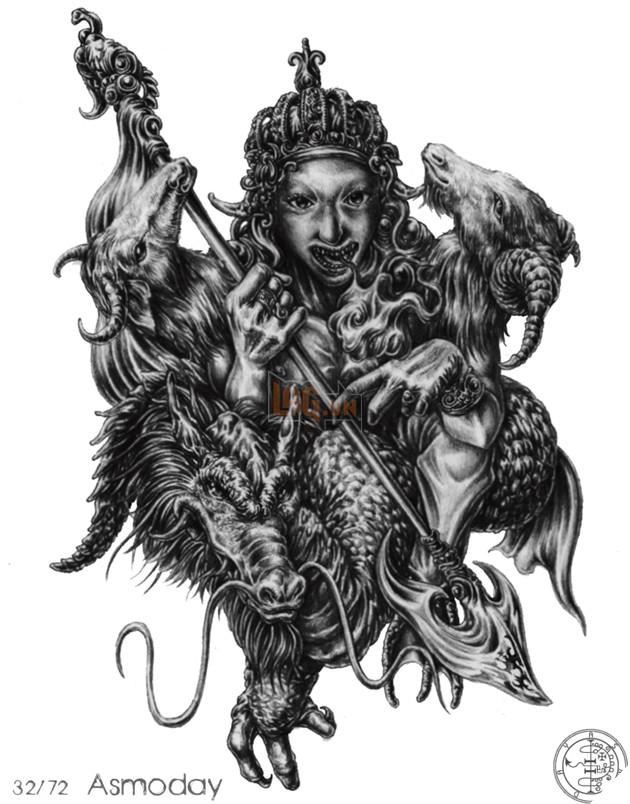 Shazam có được sức mạnh của vua Solomon - vậy bạn đã biết Vua Solomon kinh khủng thế nào và 72 Quỷ thần mà ông ta đã thống lĩnh ! 37