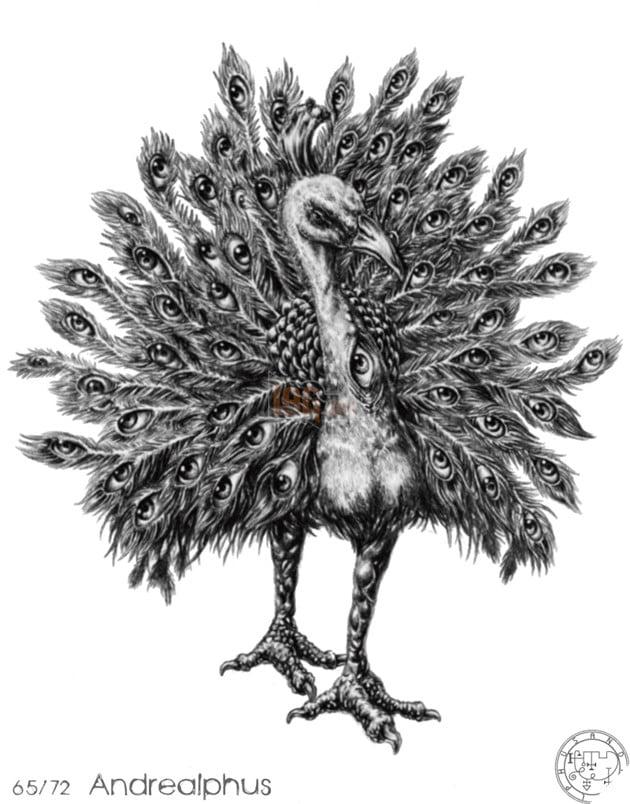 Hắn xuất hiện như là con quỷ thứ 54 trong sách về quỷ học Pseudomonarchia  Daemonum của Johann Weyer và được miểu tả như một Hầu tước vĩ đại của địa  ngục ...