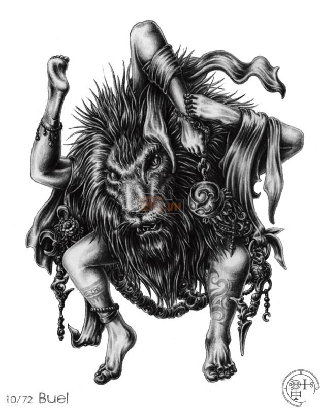 Shazam có được sức mạnh của vua Solomon - vậy bạn đã biết Vua Solomon kinh khủng thế nào và 72 Quỷ thần mà ông ta đã thống lĩnh ! 15