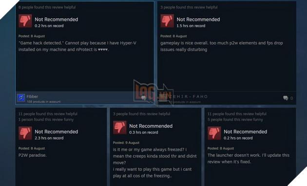 MU Legend vừa đặt chân lên Steam đã hứng trọn mưa downvote từ game thủ 3