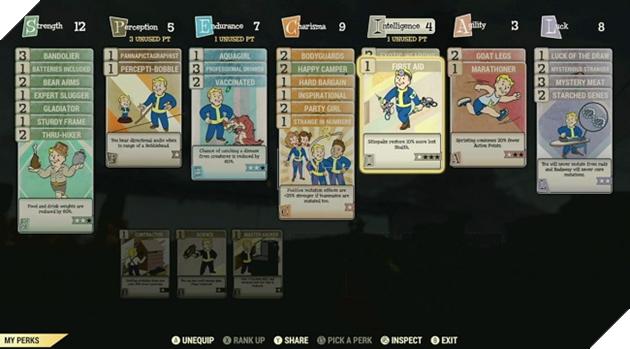 Fallout 76: Hé lộ toàn bộ Perk trong game, bạn lựa chọn lối build nào? 2