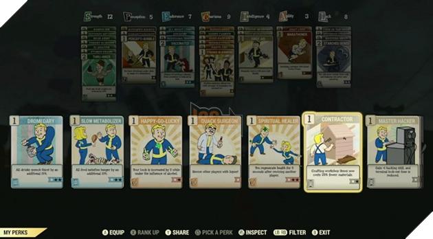 Fallout 76: Hé lộ toàn bộ Perk trong game, bạn lựa chọn lối build nào? 3