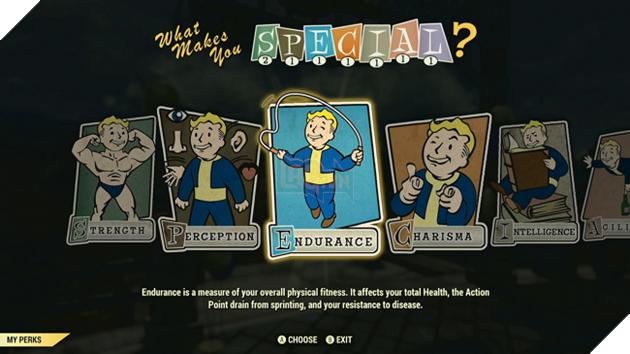 Fallout 76: Hé lộ toàn bộ Perk trong game, bạn lựa chọn lối build nào?